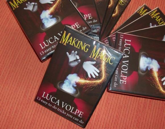 DVD - Luca Volpe - Making magic