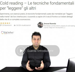 Video Corso Cold reading di Simone Ravenda