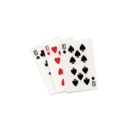 3 Card Monte (Blank) by Royal Magic - Trick