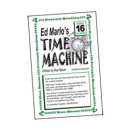 Ron Bauer Series: 16 - Ed Marlo's Time Machine - Book
