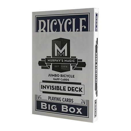 Mazzo Jumbo Invisibile Bicycle (Blue) - Trick