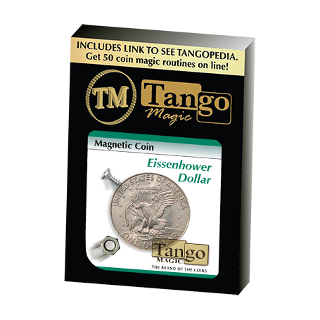 Magnetic Coin (Dollar)D0024 by Tango - Trick