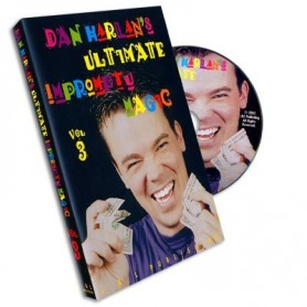 Ultimate Impromptu Magic Vol 3 by Dan Harlan - DVD
