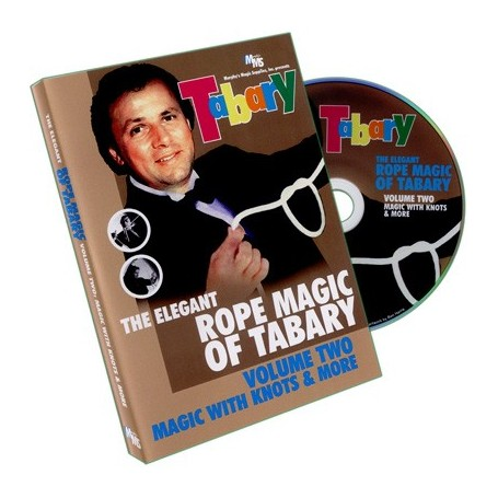 Tabary Elegant Rope Magic 2 by Murphy's Magic Supplies, Inc. - DVD
