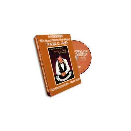 Award Winning Card Magic of Martin Nash - A-1- 3, DVD