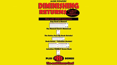 Mike Powers' Diminishing Returns - Trick