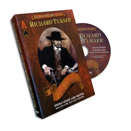 Double Signed Card Routine by Richard Turner - DVD