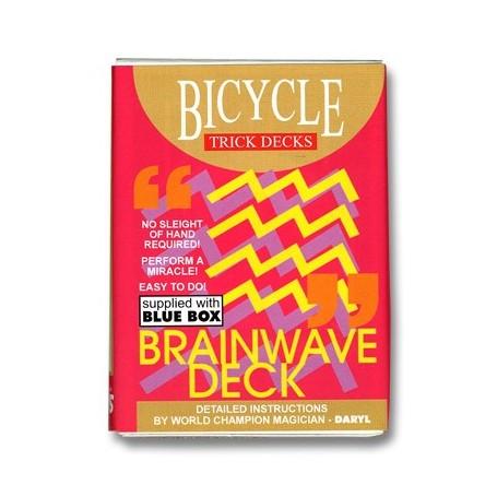 Brainwave Deck Bicycle (Blue Case) - Trick