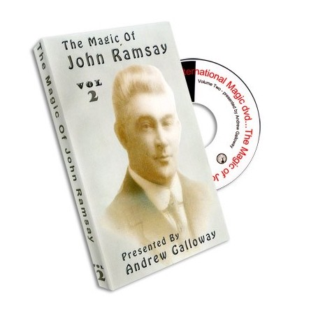 Magic of John Ramsay DVD 2 by Andrew Galloway