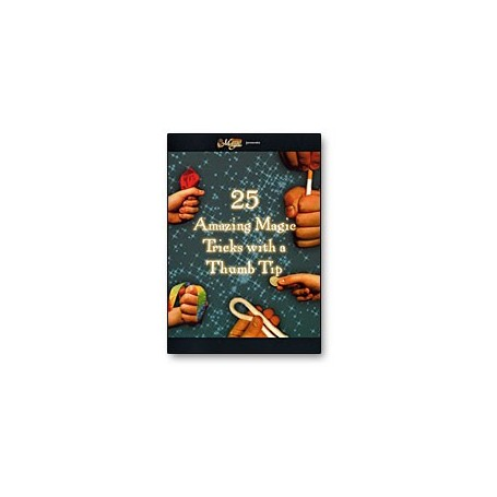 (HR) 25 Amazing Magic Tricks with a Thumbtip, DVD Falso Pollice