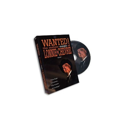 Wanted! Outlaw Magic - Volume 1 by Lonnie Chevrie - DVD