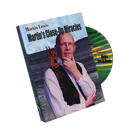 Martin's Close-up Miracles by Martin Lewis - DVD