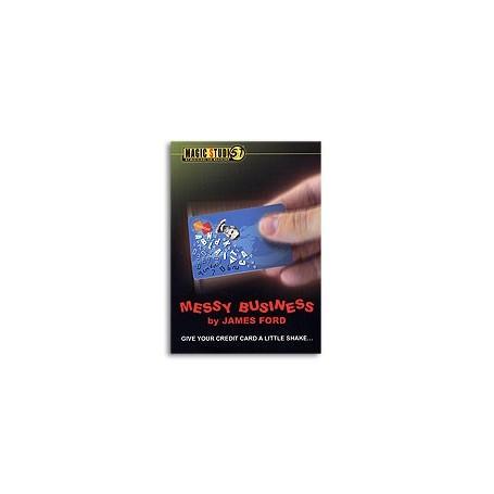 Messy Business Credit Card trick  James Ford & Magic Studio