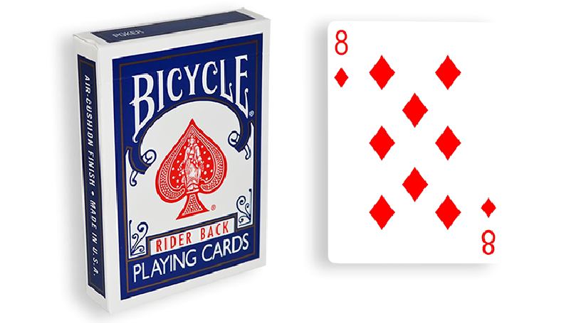 Blue One Way Forcing Deck (8d)