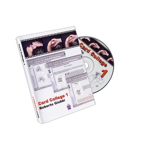 CD Card College 1 E-Book by Roberto Giobbi - DVD