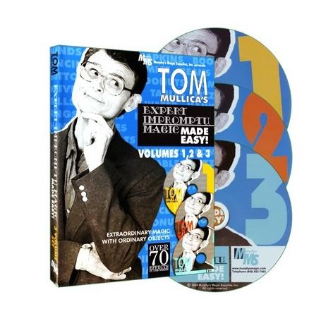 Tom Mullica's Impromptu Magic 3 Disc Combo by Murphy's Magic Supplies - DVD