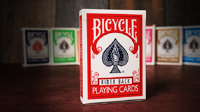 Mazzo Bicycle Rider Back (Rosso) by US Playing Card Co