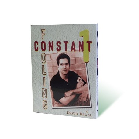 Constant Fooling Volume 1 by David Regal - Book