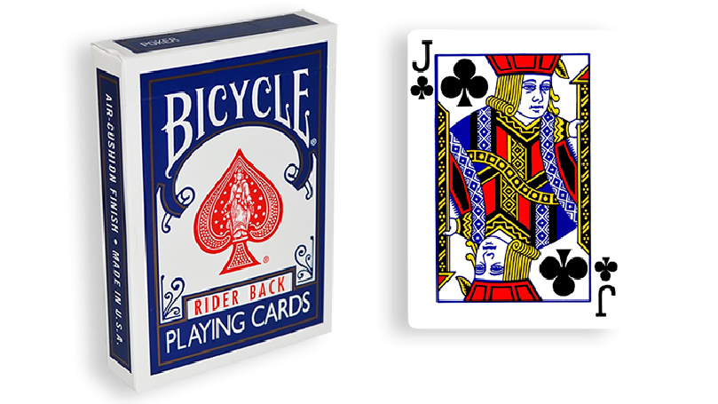 Blue One Way Forcing Deck (jc)