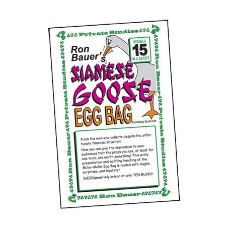 Ron Bauer Series: 15 - Siamese Goose Eggbag - Book