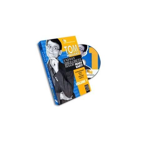 Mullica Expert Impromptu Magic Made Easy Tom Mullica- 1, DVD