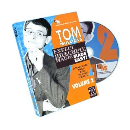 Mullica Expert Impromptu Magic Made Easy Tom Mullica- 2, DVD