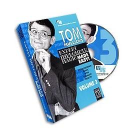 Mullica Expert Impromptu Magic Made Easy Tom Mullica- 3, DVD