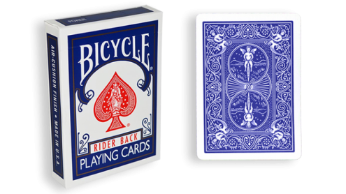 Three Way Forcing Deck Bicycle (Blue)