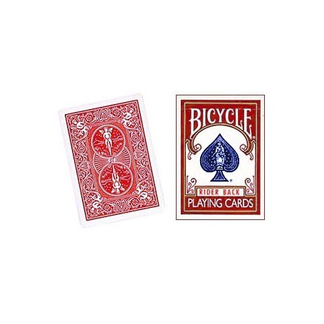 Three Way Forcing Deck Bicycle (Red)