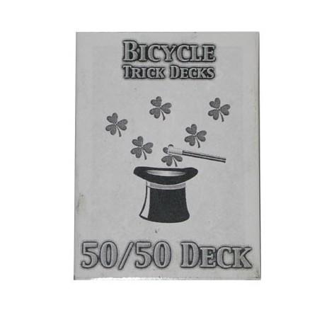 50/50 Decks Bicycle (Red)