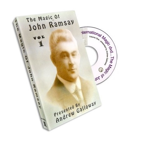 Magic of John Ramsay DVD 1 by Andrew Galloway