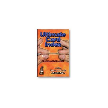 Ultimate Card Index by Bazar de Magia - Trick