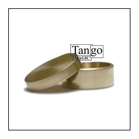 Okito Box Half Dollar (w/online instructions) (B0005) by Tango Magic - Trick