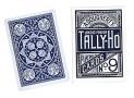 Cards Tally Ho Fan Back Poker size (Blue)