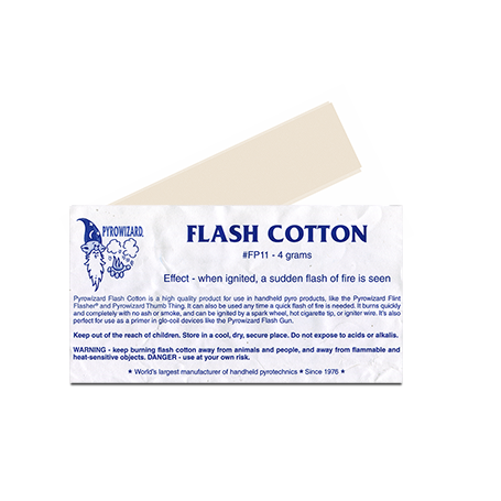 "Theatre Effects Pyrowizardâ""¢ Flash Cotton - 4 grams"