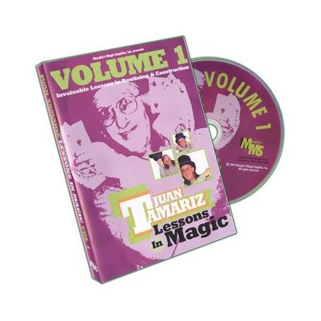 Lessons in Magic Volume 1 by Juan Tamariz - DVD