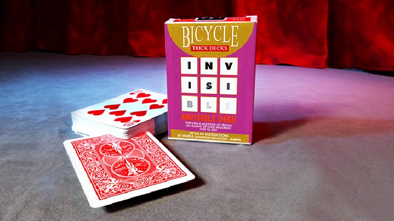 Mazzo Invisibile Bicycle (Red) - Trick