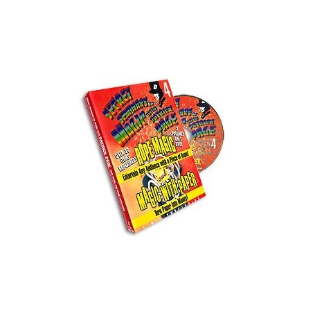 Page Rope Magic/Magic with Paper Patrick Page- 4, DVD