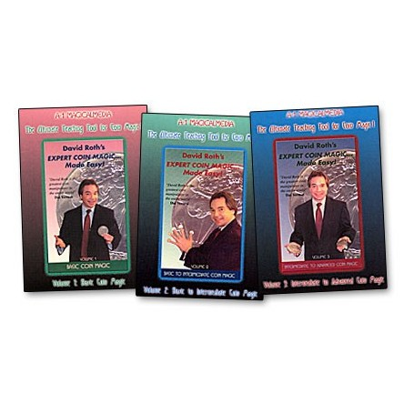 Coin Magic Made Easy Roth- 3, DVD