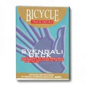 Svengali Deck Bicycle (Blue) - Trick