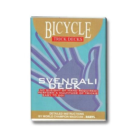 Svengali Deck Bicycle (Blue) - Trick
