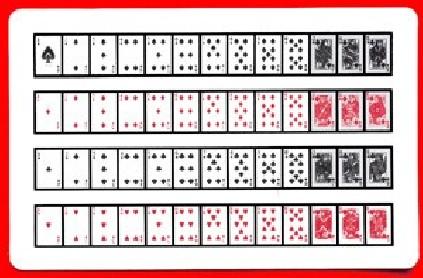 Carta singola 52 in 1 (Dorso Royal)