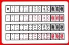 52 on 1 Cards (Royal back) 1 card equals  1 unit.