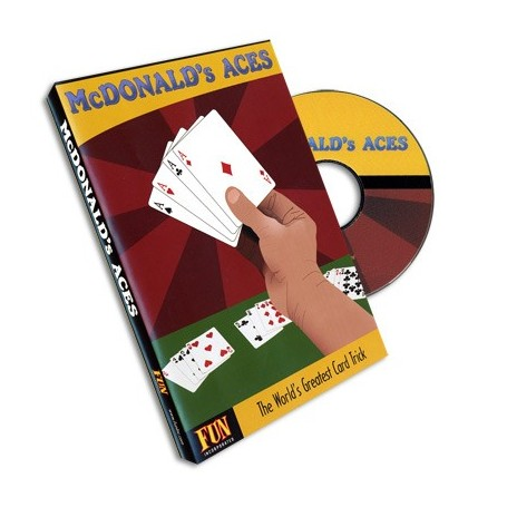 McDonald's Aces (With Cards) by Royal Magic - DVD