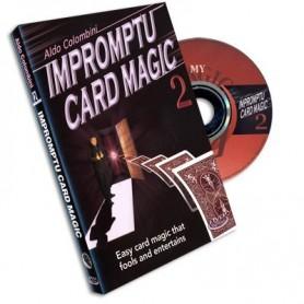 Impromptu Card Magic 2 Aldo Colombini, DVD
