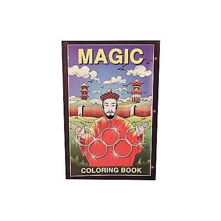 Mini Coloring Book (magician) Sizes  6 inch x9 inch by Uday - Trick