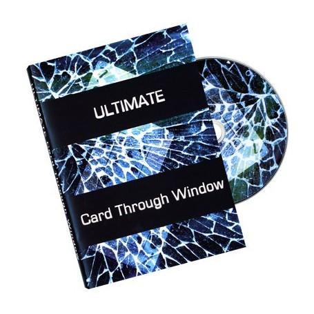 Ultimate Card Through Window DVD - Eric James