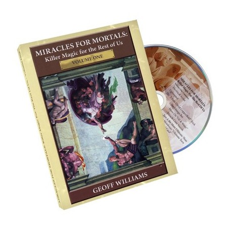 Miracles For Mortals Volume One by Geoff Williams - DVD