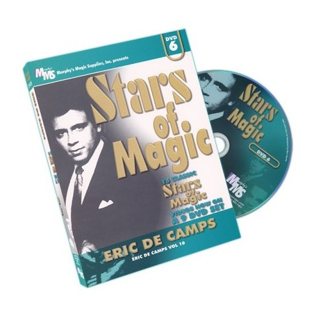 Stars Of Magic 6 (Eric DeCamps) - DVD