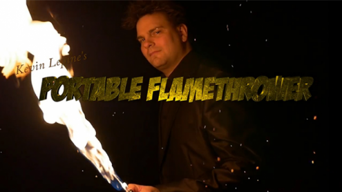 Portable Flame Thrower by Kevin Lepine - Trick